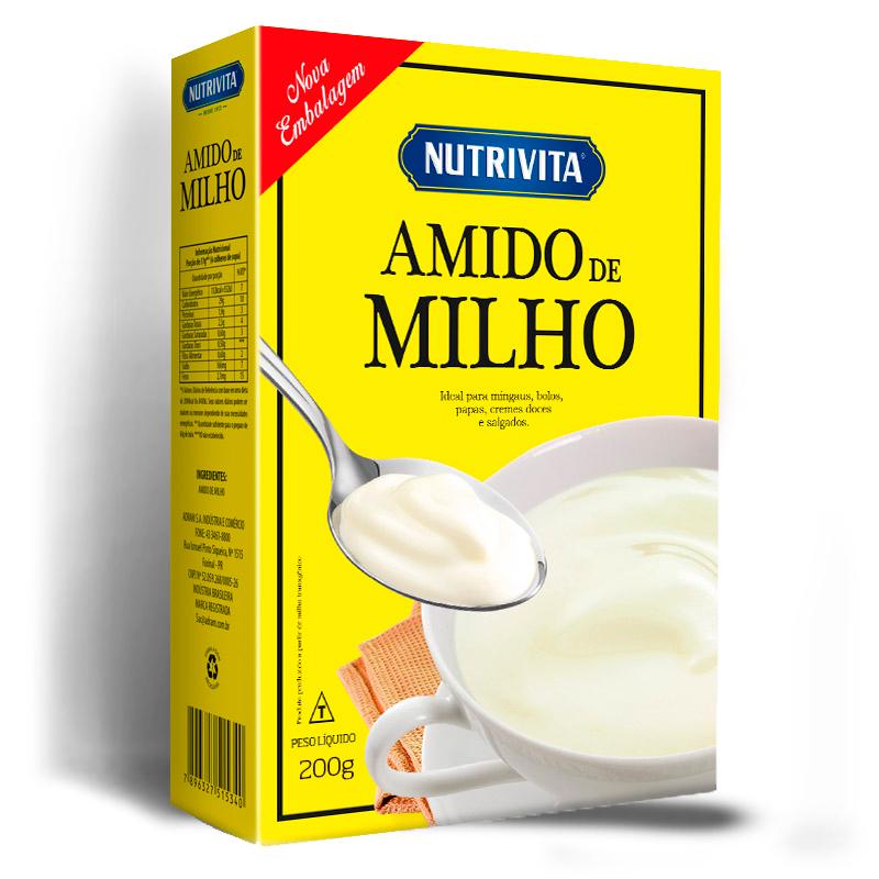 Amido de Milho Nutrivita